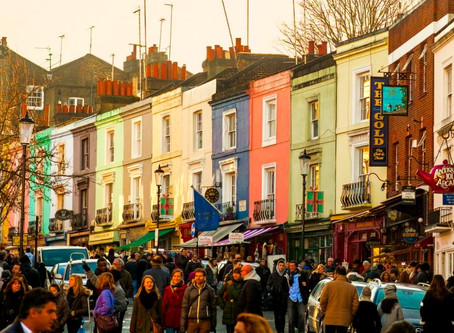 Portobello Road, the 90s - and the origins of Modern Originals.