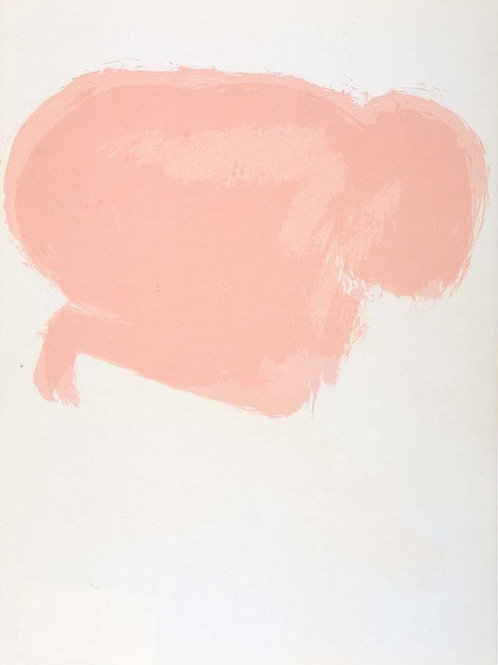 Claude Garache, Female Nude, original lithograph, 1975