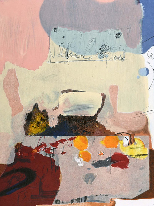 Paul Rebeyrolle, abstract, 1967