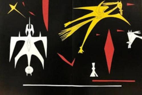Wilfredo Lam, abstract, 1953