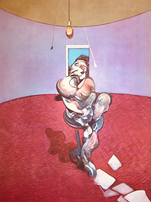 Francis Bacon, George Dyer talking, 1966