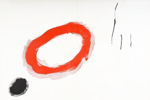 Joan Miro, abstract lithograph, 1961