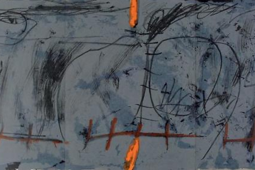 Antoni Tapies, abstract, 1967