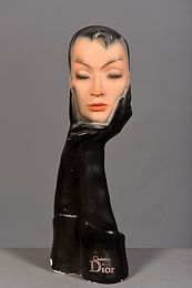 Christian Dior, 1950s Gloved Mannequin Head