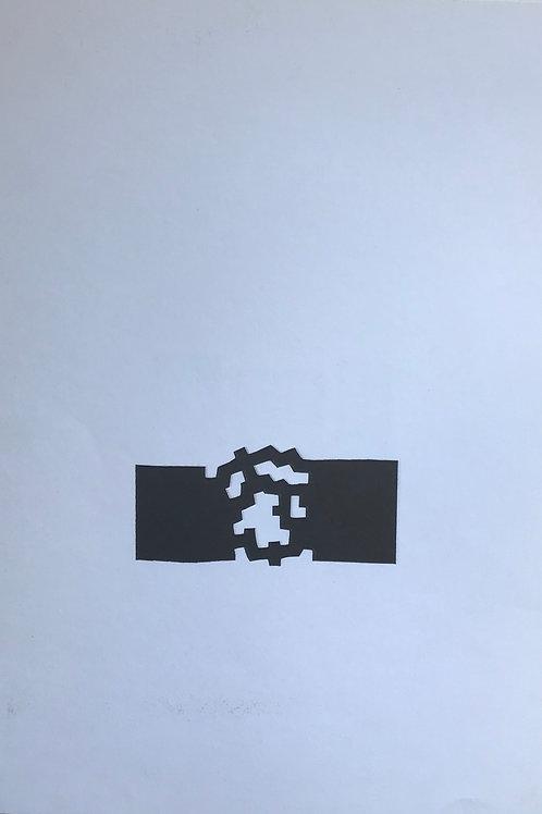 Eduardo Chillida, abstract, 1980