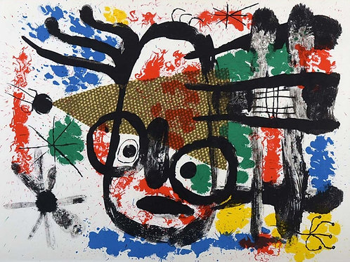 Joan Miró, The Two Ends of the Brush, 1960