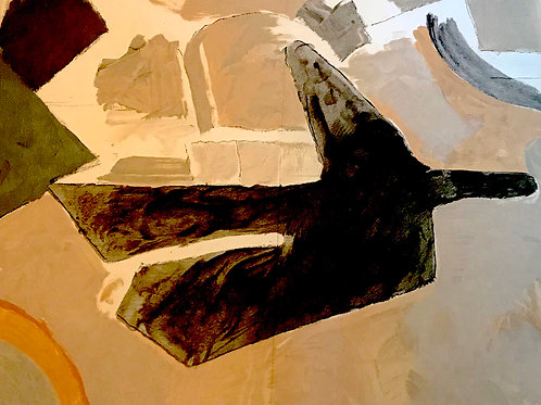 Georges Braque, Blackbird, 1967
