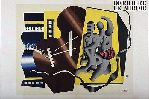Fernand Leger, Cover, Derriere le Miroir, 1955