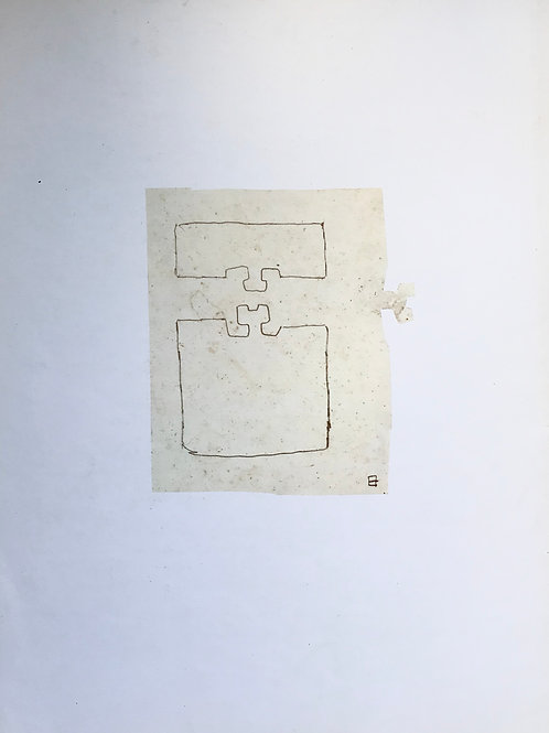 Eduardo Chillida, abstract, 1980