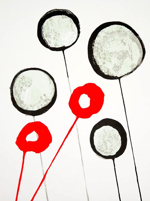 Lollipops, Alexander Calder, 1966