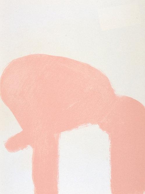 Claude Garache, Female Nude, Original Lithograph, 1975