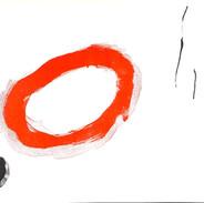 Miro black spot red circle