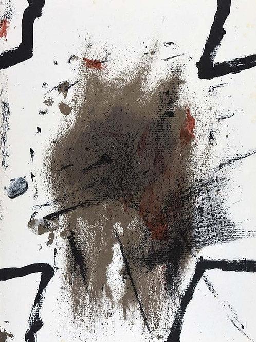 Antoni Tapies, abstract, 1968