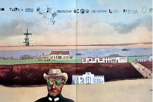 Saul Steinberg,  original lithograph, 1970
