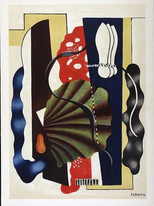 Fernand Leger, Nature Morte, original lithograph, 1955