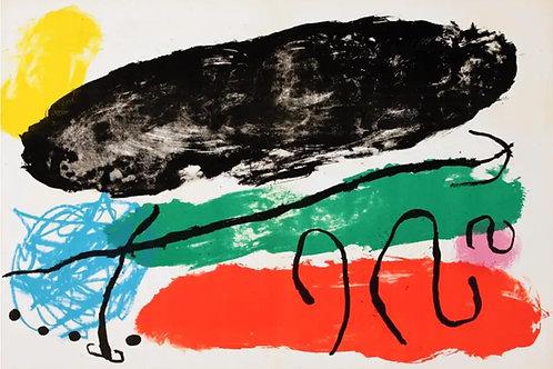 Joan Miro, L'Astre Patagon, 1961