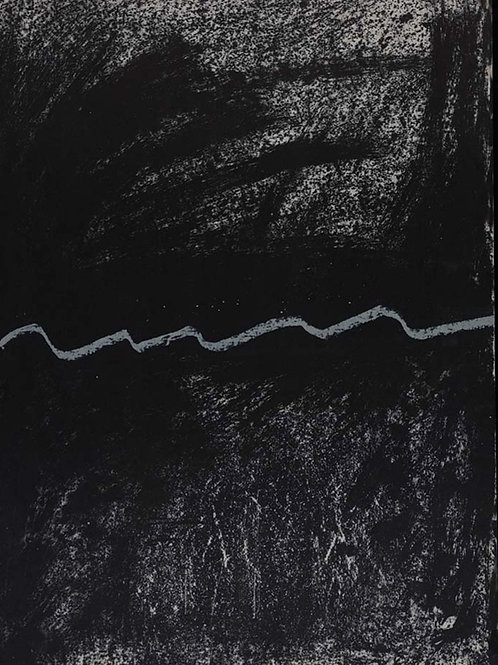 Antoni Tapies, abstract, original lithograph, 1968