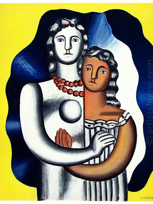 Fernand Léger: Les deux figures