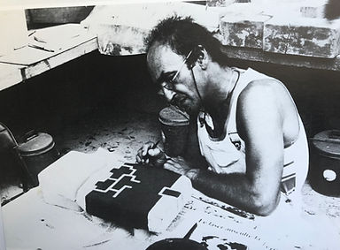 Chillida making litho stones.jpg