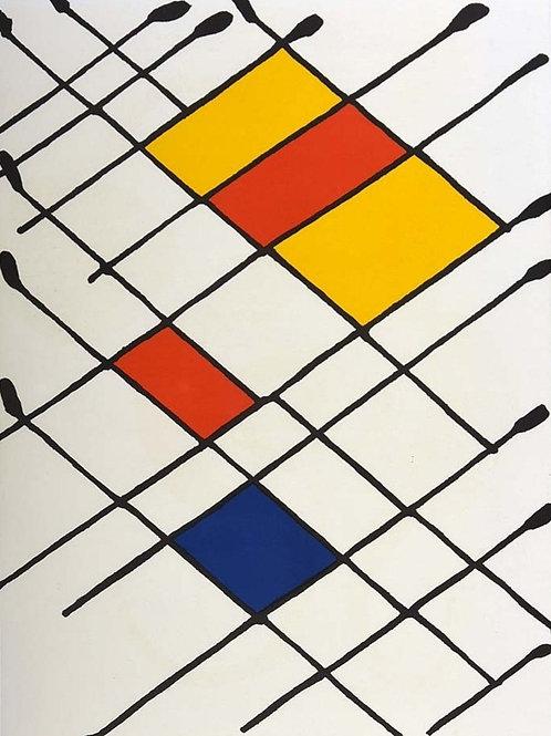 Alexander Calder, abstract, 1966