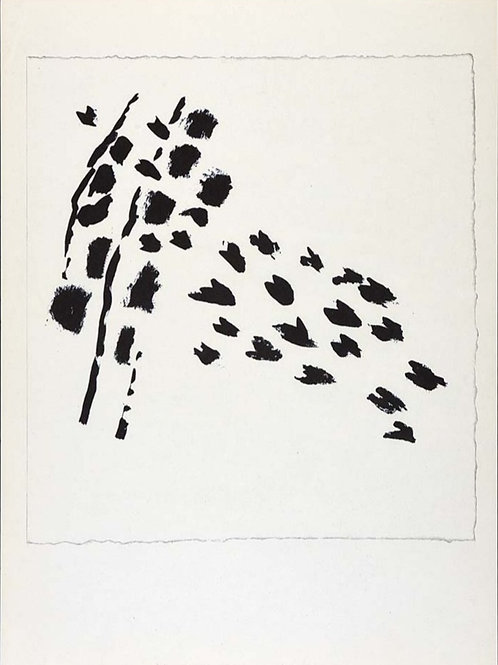 Tal Coat, Footprints, 1959