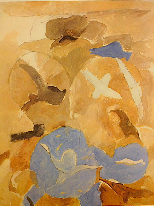 Georges Braque, Birds and Sky, Derniers Message, 1967