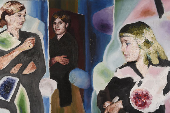 Three portraits Circa 1930  James Woods 1889-1975