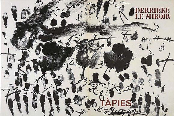 Antoni Tapies, Cover, Derriere le Miroir, 1968