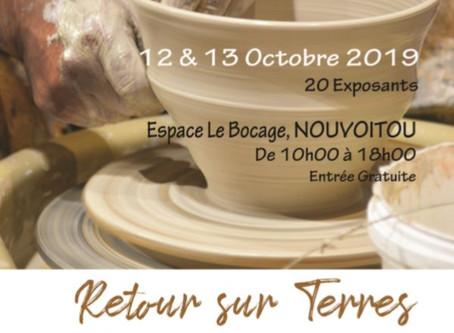 Salon Céramique les 12 et 13 octobre à Nouvoitou : j'en suis, et vous ?
