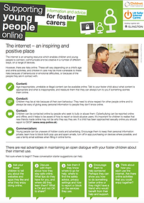 Supporting Young People Online for Foste