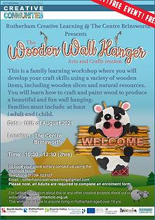 16_08_21 - Brinsworth Wooden wall hanger