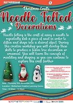Christmas - Needle Felted Decorations - 25th November.jpg