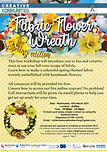 Fabric Wreath- Spring edition - 10th Mar
