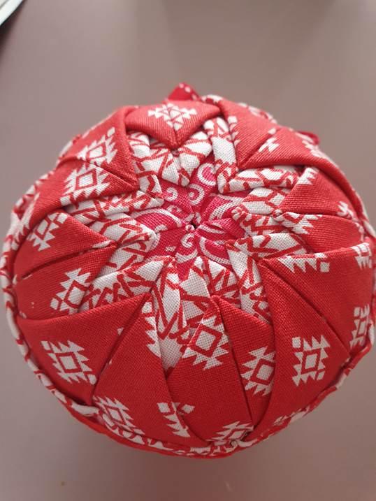 Fabric Pomander