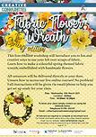 Fabric Wreath- Spring edition - 10th Mar