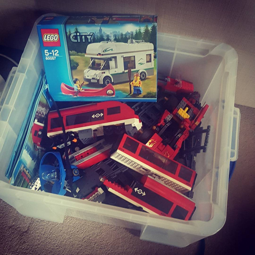 42L of LEGO