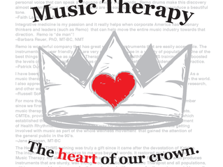 Music Therapy...the Heart of our Crown!