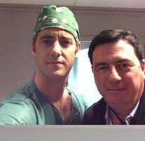 Dr Barragan and Dr Stefaan Reynders 2013