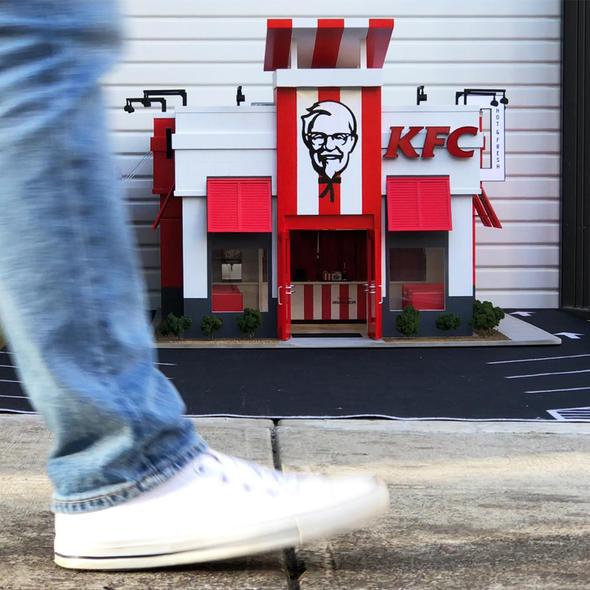 WORLD'S SMALLEST KFC