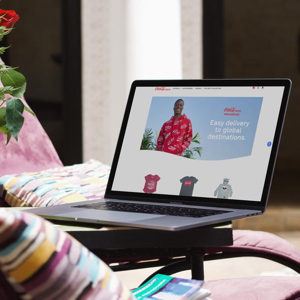 THE COCA-COLA INTERNATIONAL ONLINE STORE  USABILITY TESTING