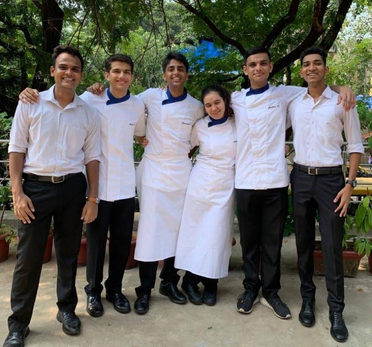 MCM Students in IHM Mumbai