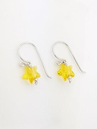Mini Estrellas amarillas Cristal
