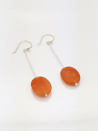 Aretes Venturina naranja
