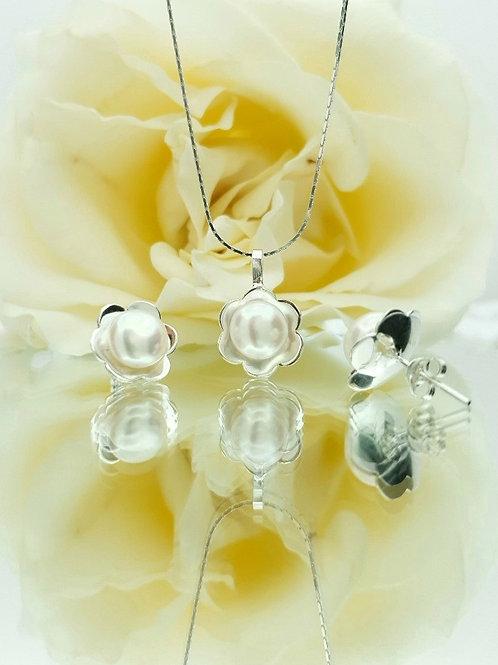 Aderezo en Flor y Perlas