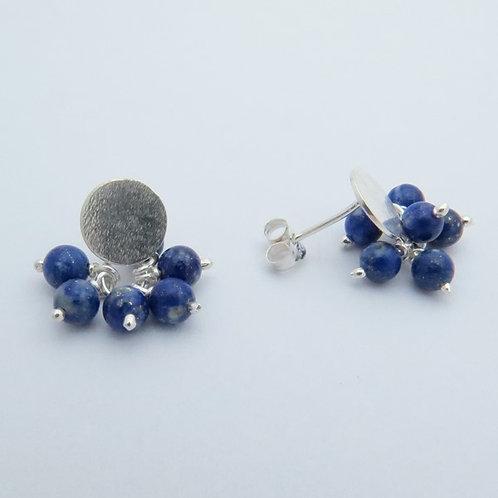 Topos ramillete lapis lazuli