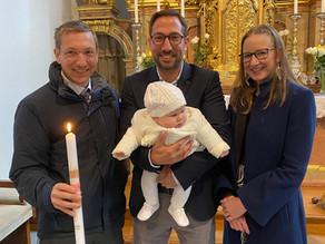 Taufe von Isabella Hörmaier
