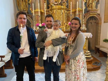 Taufe von Isabell Leonie Uran