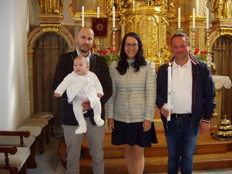 Taufe von Jana Marzi