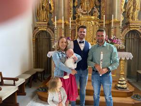 Taufe von Malina Schlögl