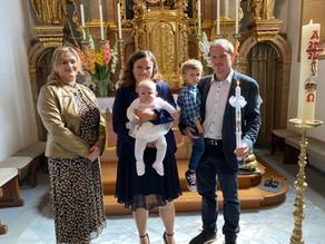 Taufe von Amelie Six